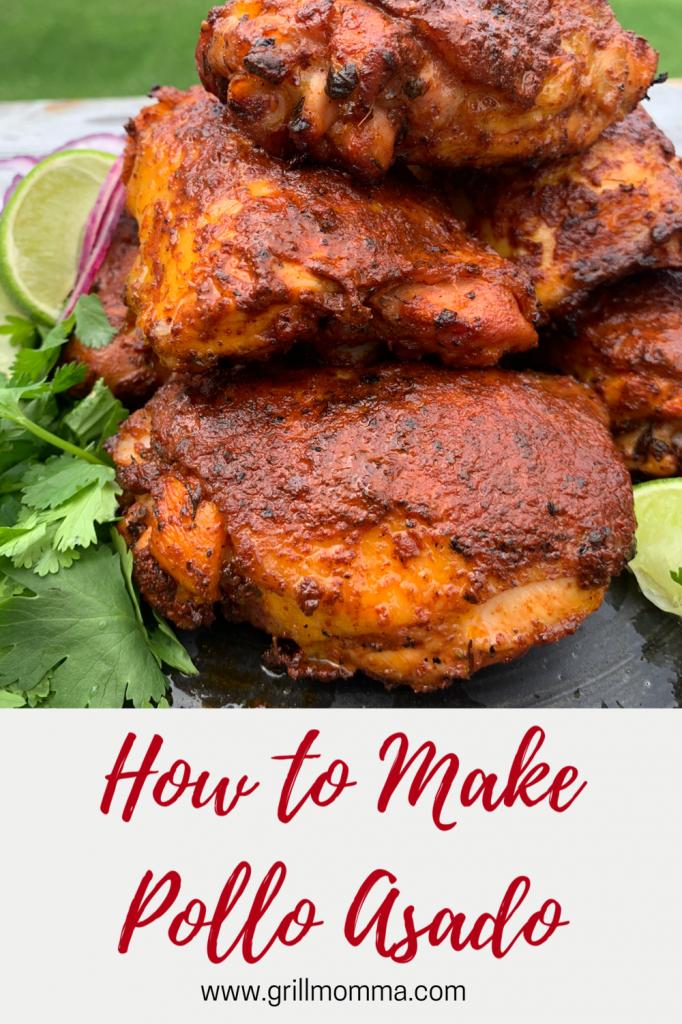 How to make pollo asado