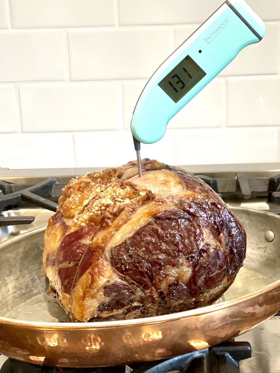 Standing Rib Roast After Resting