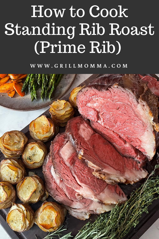 How to Cook Standing Rib Roast (Prime RIb)