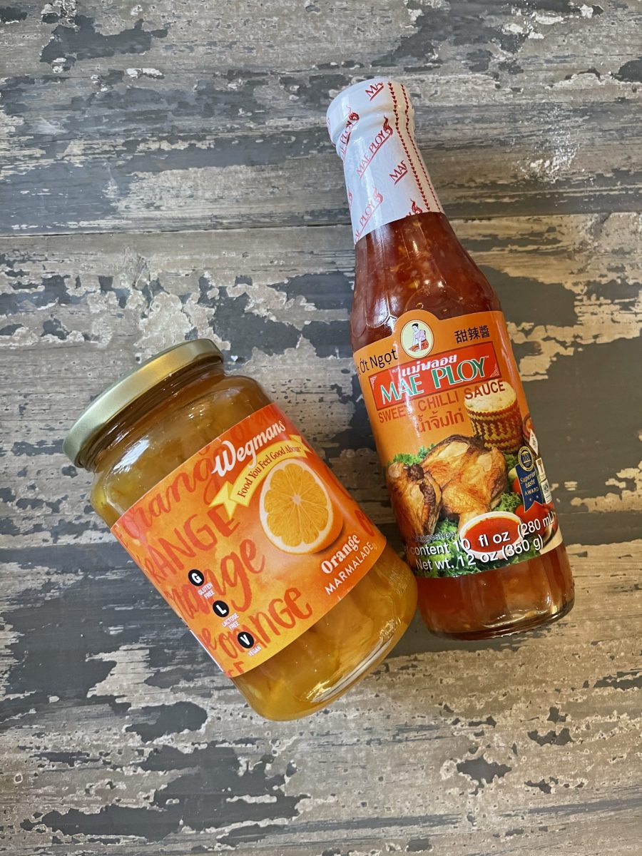 Orange Marmalade and Sweet Chilli Sauce for Dipping Sauce