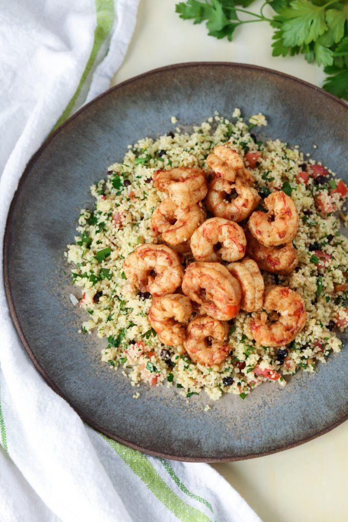 Shrimp with Couscous Picture