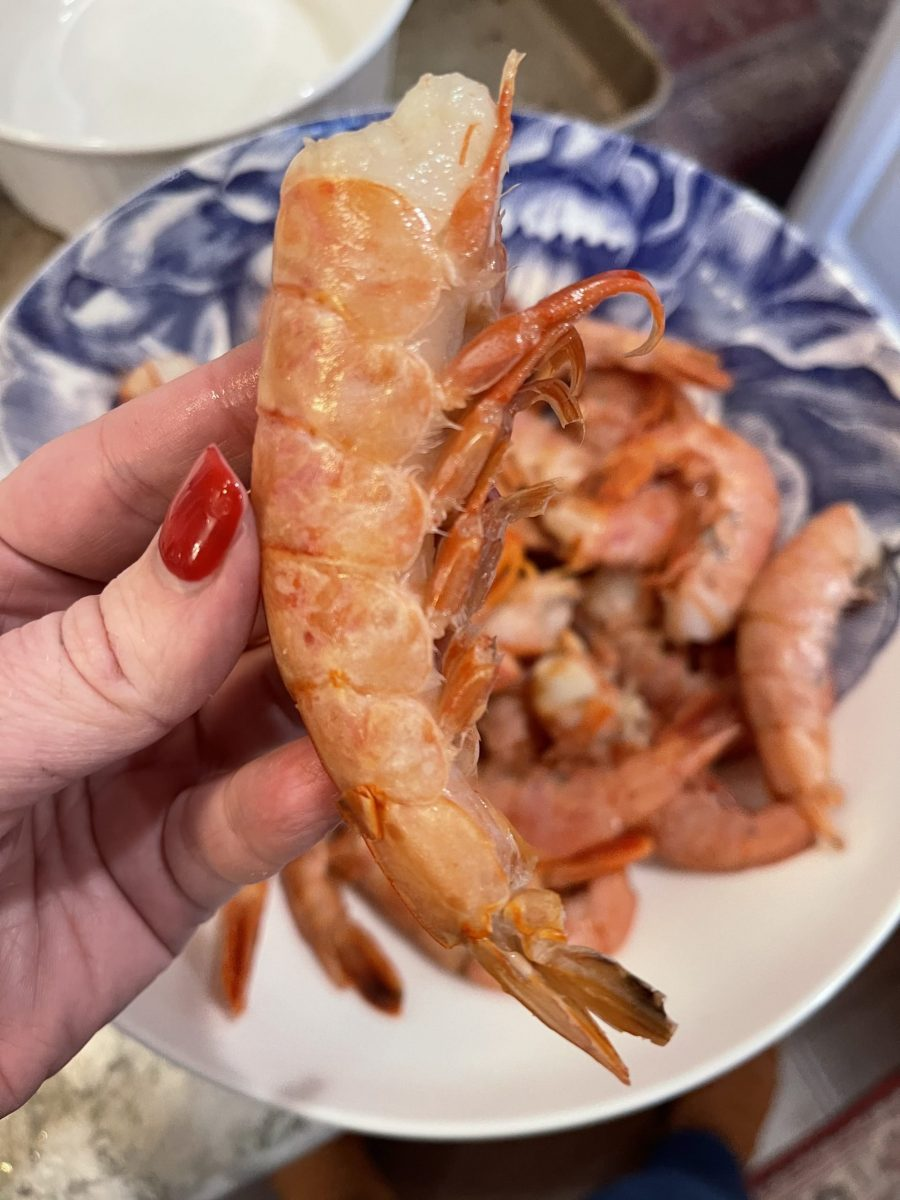 Raw Shell On Red Argentinian Shrimp