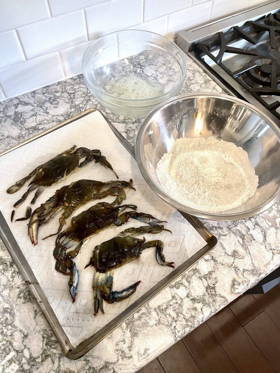 pic of soft shell crabs