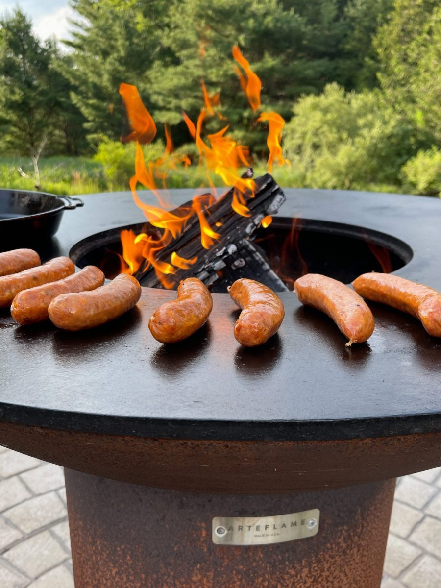 Brats On The Arteflame Grill