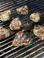 Chimichurri Lamb Chops On The Grill