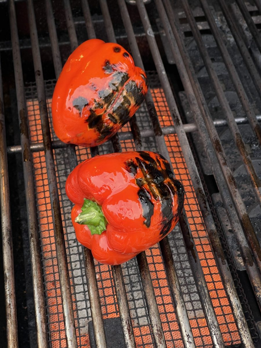 Grilling Bell Peppers
